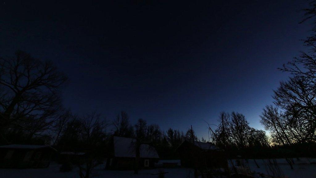 Maal öösel jaanuar 2014