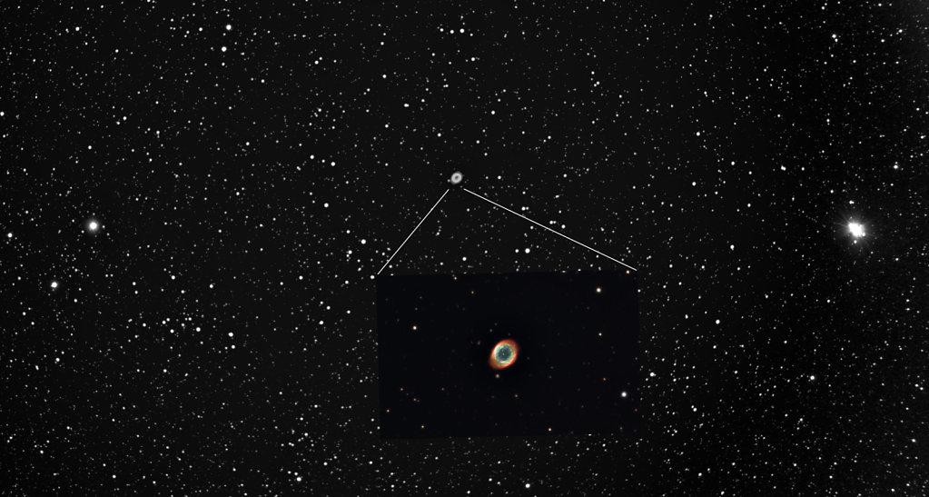 Ring nebula, Sõrmuse udukogu M57