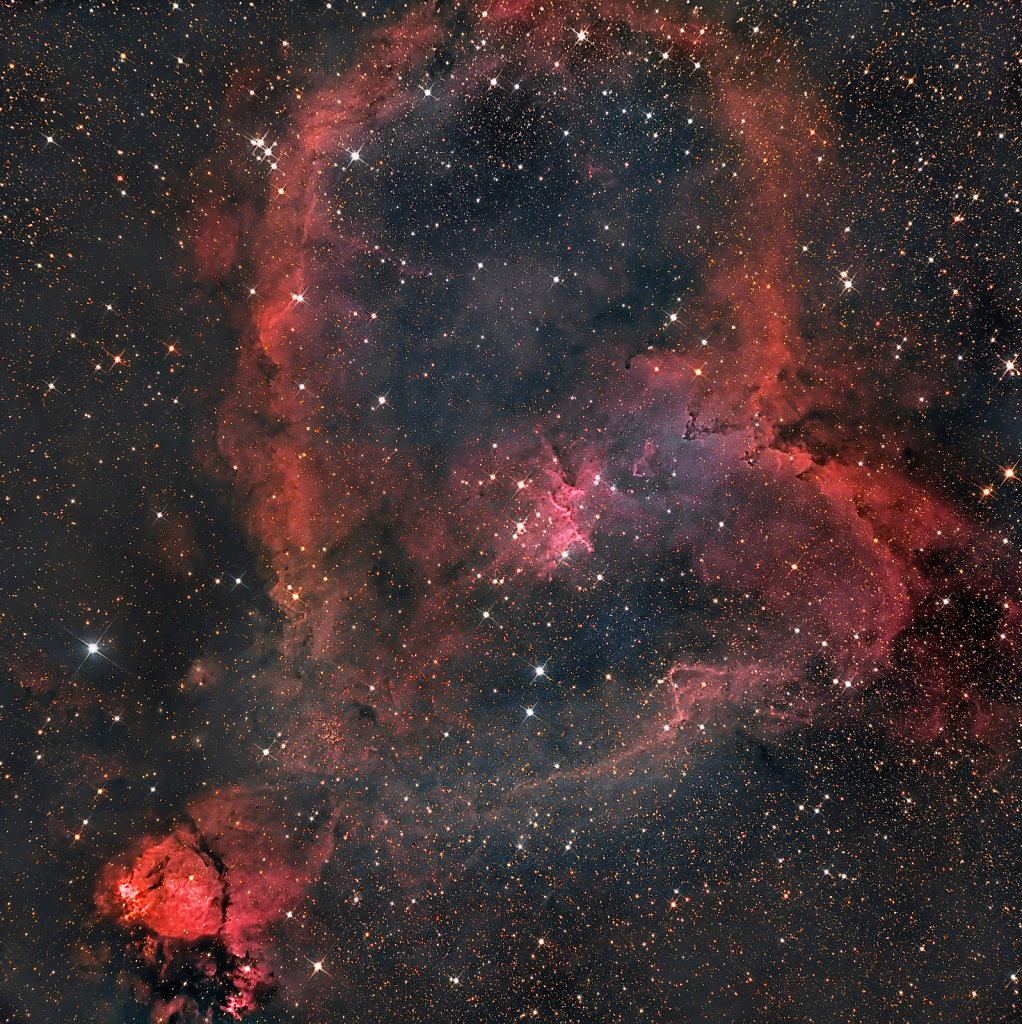 Heart nebula, IC1805