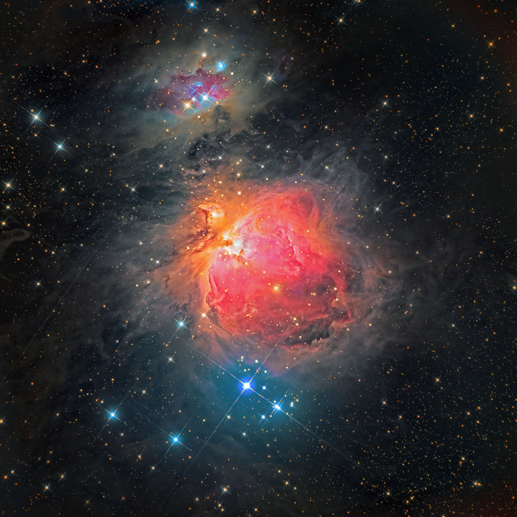 M42, The Great Orion Nebula